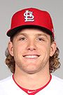 Portrait of Harrison Bader