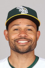 Portrait of Coco Crisp