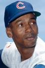 Portrait of Ernie Banks