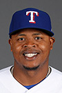 Portrait of Edinson Volquez
