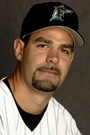 Portrait of Mike Lowell