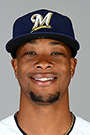 Portrait of Keon Broxton