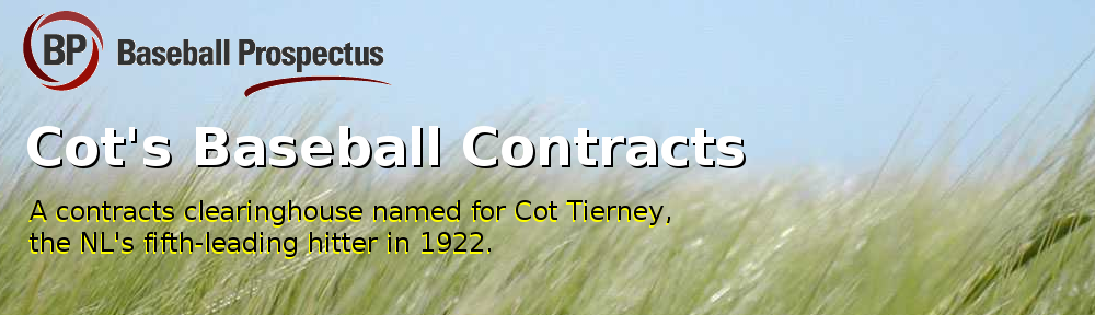 St  Louis Cardinals | Cot's Baseball Contracts