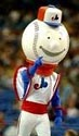 Souki, the Expos' first mascot